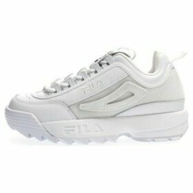 Fila  5FM00538 DISRUPTOR II PATCHES  women's Shoes (Trainers) in White