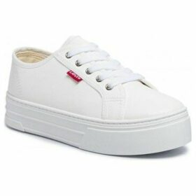 Levis  230704 00794  women's Shoes (Trainers) in White
