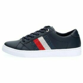 Tommy Hilfiger  FW0FW04299 CRYSTAL  women's Shoes (Trainers) in Blue