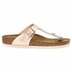 Birkenstock  GIZEH ELETTRIC  women's Flip flops / Sandals (Shoes) in Brown
