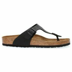 Birkenstock  GIZEH BIRKO-FLOR  women's Flip flops / Sandals (Shoes) in Black