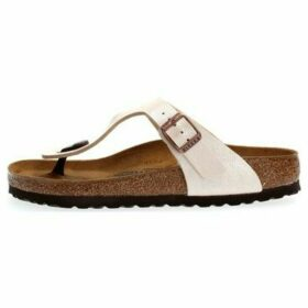 Birkenstock  GIZEH BIRKO-FLOR GRACEFUL  women's Flip flops / Sandals (Shoes) in Grey