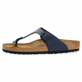Birkenstock  GIZEH BIRKO-FLOR  women's Flip flops / Sandals (Shoes) in Blue