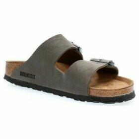 Birkenstock  ARIZONA BIRKO-FLOR NUBUCK BRUSHED  women's Sandals in Green
