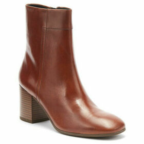 Vagabond  Nicole Womens Cinnamon Brown Leather Boots  women's Low Ankle Boots in Brown