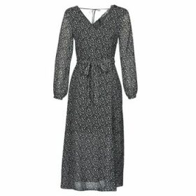 Ikks  BQ30085-02  women's Long Dress in Black
