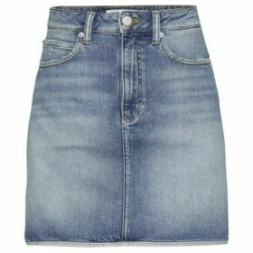 Calvin Klein Jeans  J20J208806 HR MINI WESTERN  women's Skirt in Blue