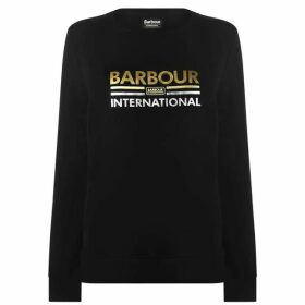 Barbour International B.Int Dual Logo Swt Ld94