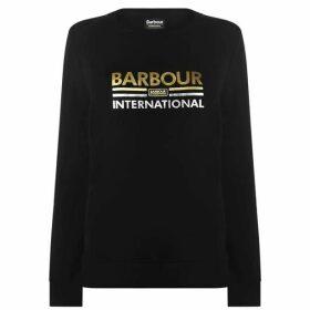 Barbour International B.Int Dual Logo Swt Ld94