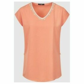 Diamantine Pure Création Maroca  Daphine  women's Blouse in Pink
