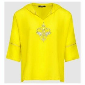 Diamantine Pure Création Maroca  Katalina  women's Blouse in Yellow