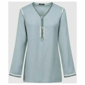 Diamantine Pure Création Maroca  Dream  women's Blouse in Blue
