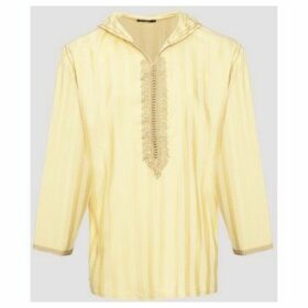 Diamantine Pure Création Maroca  Valadolid  women's Blouse in Beige