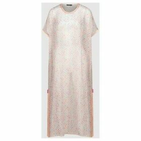 Diamantine Pure Création Maroca  Kaftan Alison  women's Tunic dress in Blue