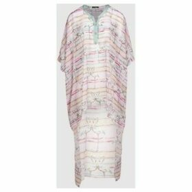 Diamantine Pure Création Maroca  Kaftan Lorenda  women's Tunic dress in Pink
