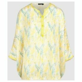 Diamantine Pure Création Maroca  Aghate  women's Blouse in Yellow