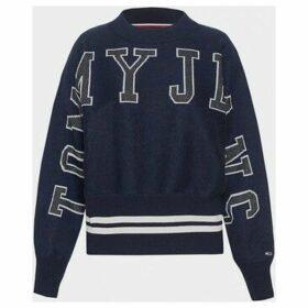 Tommy Jeans  DW0DW07352 BATWING  women's Sweater in Black