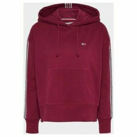Tommy Jeans  DW0DW07345 TONAL TAPE  women's Sweatshirt in Red