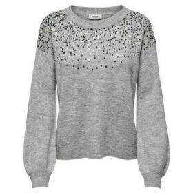Jacqueline De Yong  JERSEY PARA MUJER  women's Sweater in Grey