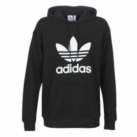 adidas  TRF HOODIE  women's Sweatshirt in Black