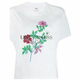 Levis  69973 0051 VARSITY TEE  women's T shirt in White