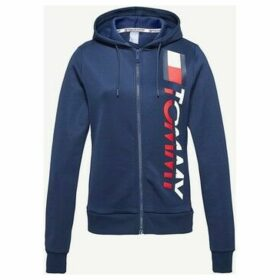 Tommy Hilfiger  S10S100092 HOODY ZIP  women's Sweatshirt in Blue