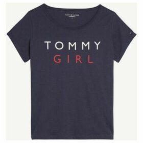 Tommy Hilfiger  UW0UW01619 CN TEE  women's T shirt in Blue