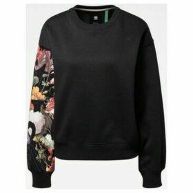 G-Star Raw  D15659 A971 GRAPHIC 2 LOOSE  women's Sweatshirt in Black
