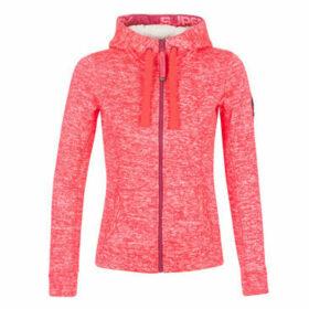 Superdry  STORM COLOUR POP ZIPHOOD  women's Sweatshirt in Pink