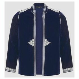 Diamantine Pure Création Maroca  Gondole Velour  women's Jacket in Blue