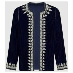 Diamantine Pure Création Maroca  Neyla  women's Jacket in Blue