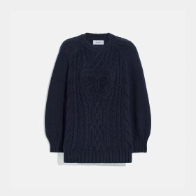 Coach Butterfly Aran Sweater