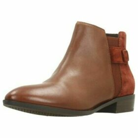 Geox  D LOVER  women's Low Ankle Boots in Brown