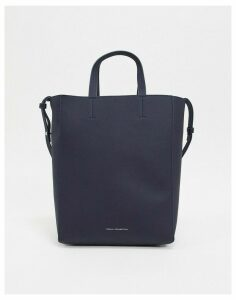 French Connection moa leather tote-Blue