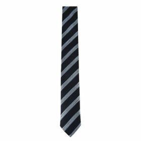 Hugo Business Textured Diagonal Stripe Tie
