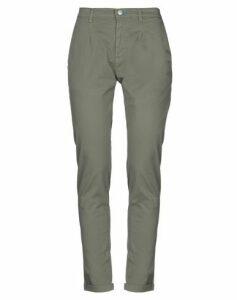 GREY DANIELE ALESSANDRINI TROUSERS Casual trousers Women on YOOX.COM