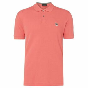 PS by Paul Smith Zebra Organic Pique Polo
