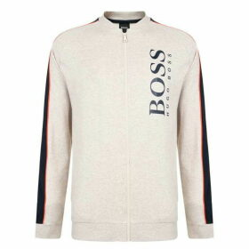 BOSS BODYWEAR Panelled Zip Sweatshirt