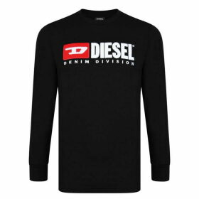 Diesel Jeans Division Long Sleeve T Shirt