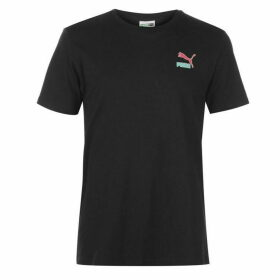 Puma Hand Write T Shirt Mens