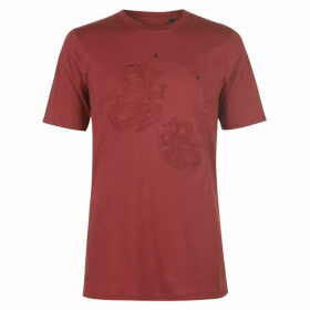 Armani Exchange Armani Dragon Logo T Shirt Mens