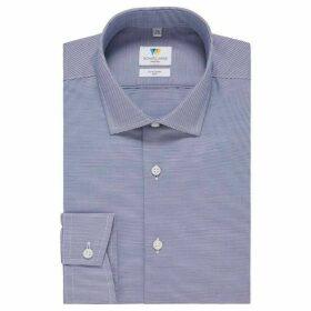 Richard James Horizontal Stripe Slim Fit Shirt