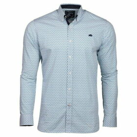 Raging Bull Long Sleeve Ditzy Print Shirt