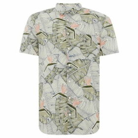 Boss Cattitude 1 Short Sleeve Floral Print Shirt