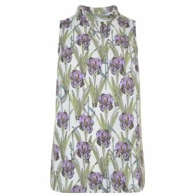 DARLING Amethyst Floral Top