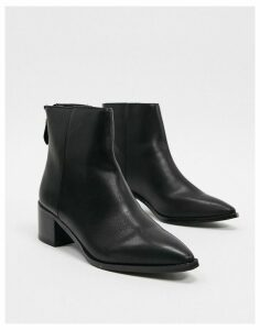 Vero Moda pointed toe boots-Black