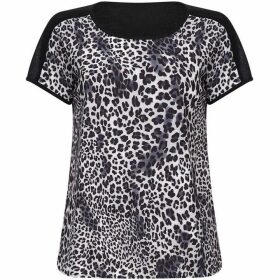 Yumi Leopard Patterned Top
