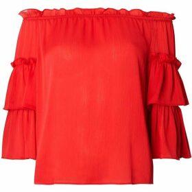 Dorothy Perkins Puff Sleeve Bardot Top