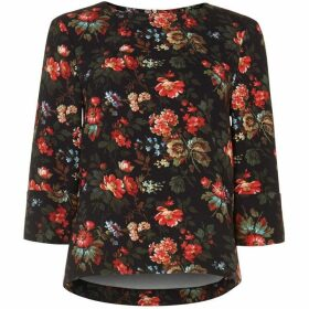 Phase Eight Rae Rose Print Blouse