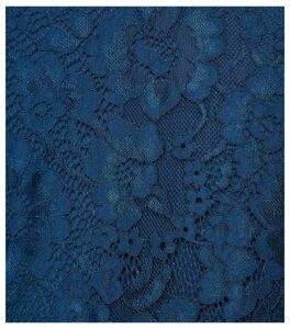 Apricot Curves Teal Lace Scallop Hem Dress New Look